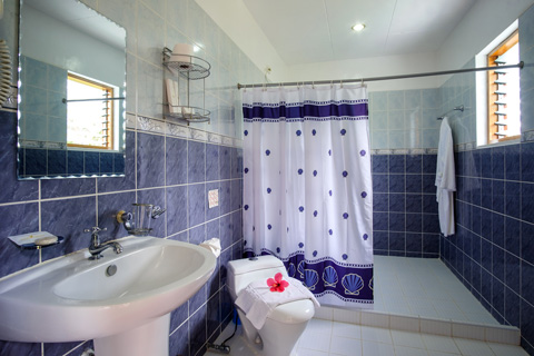 Bathroom in Sea View Deluxe